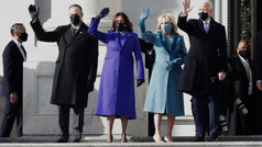 The attire of lady dignitaries at the 59th Presidential inauguration on 20th January 2021