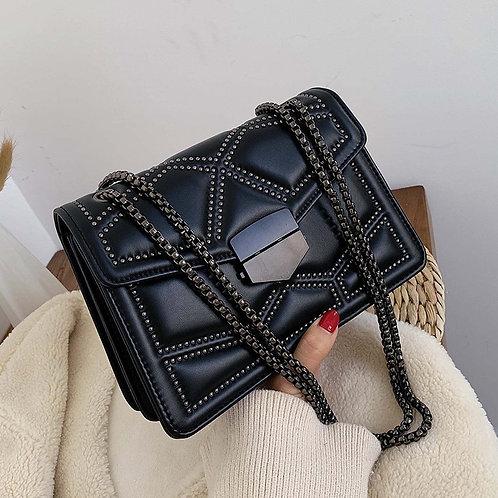 Rivet Chain Small Crossbody Bags for Women 2021