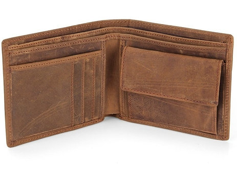Genuine Leather Mens' Wallets Horse Leather