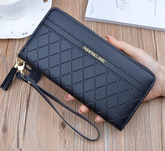 Long Lattice Tassel Mobile Phone Bag
