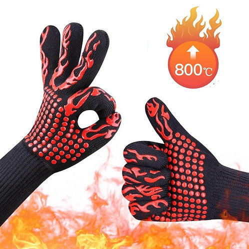 Oven Gloves High Temperature Resistance 1 Pair