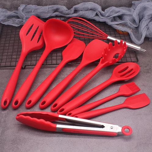 Food Grade Silicone Cooking Utensils Set Kitchenware