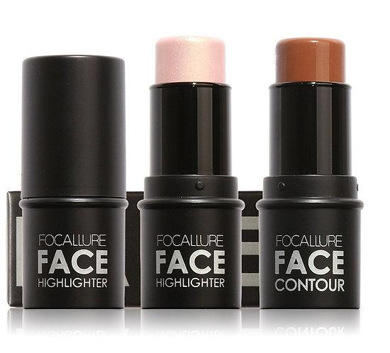 Highlighter Makeup Glitter Contouring Bronzer for Face