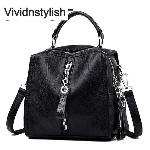 New Luxury PU Leather Handbag for Ladies