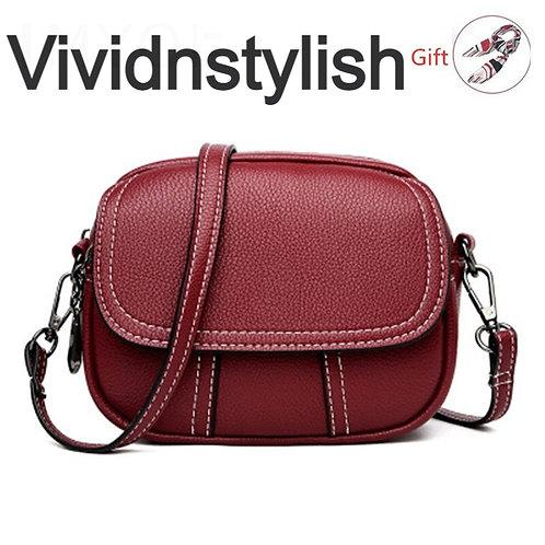PU Leather Small Handbag