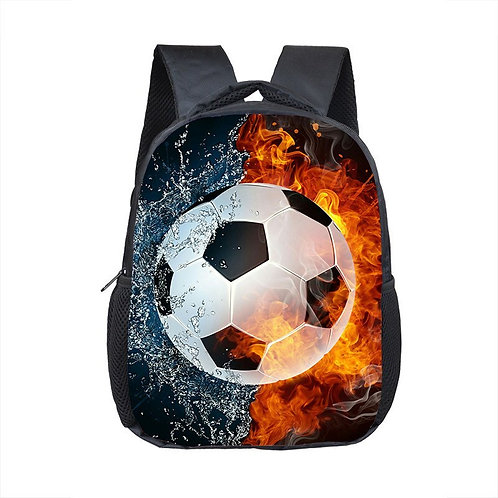 Soccer Print Backpack for 2-4 Years Old Kids