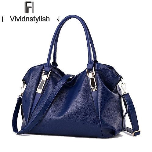 PU Leather Handbags Ladies Portable Shoulder Bag