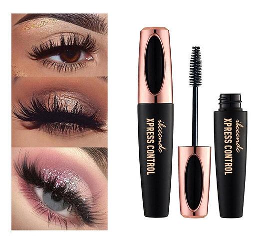 4D Eyes Mascara Long Lasting Black Waterproof