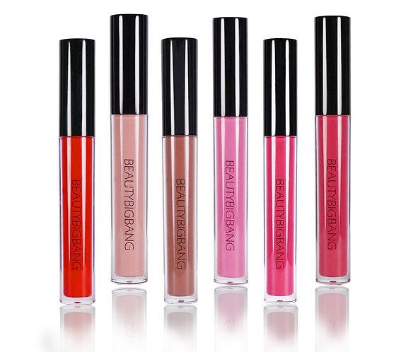 Liquid Lipstick Lip Paint Pink Red 6 Color Matte
