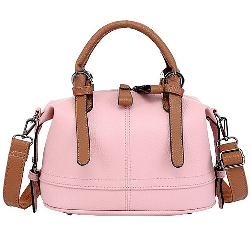 New Luxury Handbag Single Shoulder PU Bucket