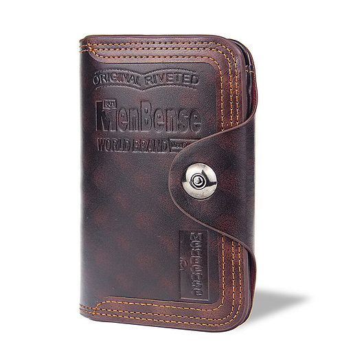 Men's Wallet Fashion Vertical Section Coin Bag