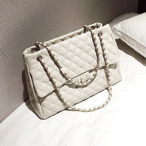 Large France Chain Shoulder Luxury Handbag