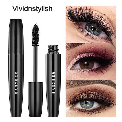 Mascara Waterproof Makeup 4D Silk Fiber Lash