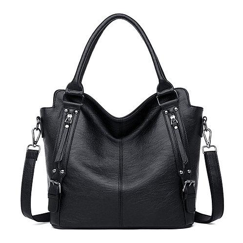 Luxury Designer New Fashion Soft PU Leather Handbag