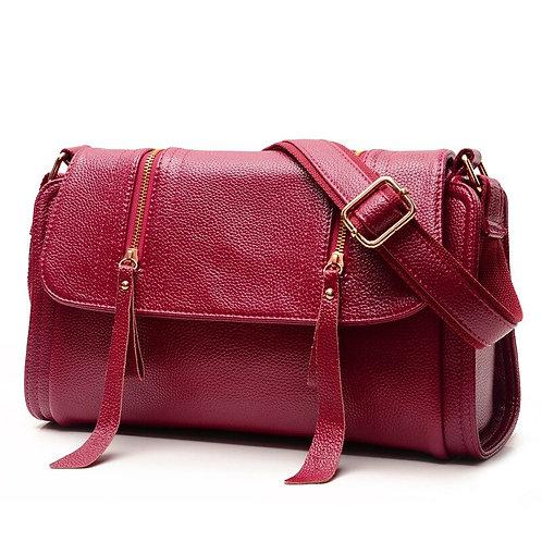Fashion Shoulder Bag Solid Color