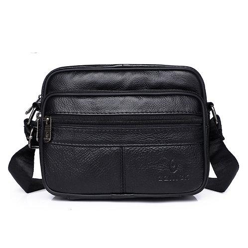 Men's Genuine Leather Shoulder Bag