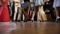 The school dance