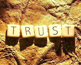 The trust we put!