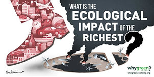 Over-consumption and extreme inequality of resources