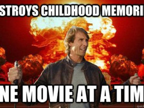 The problem with Michael Bay