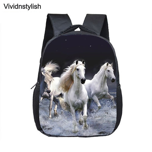 Crazy Horse Printing School Backpack