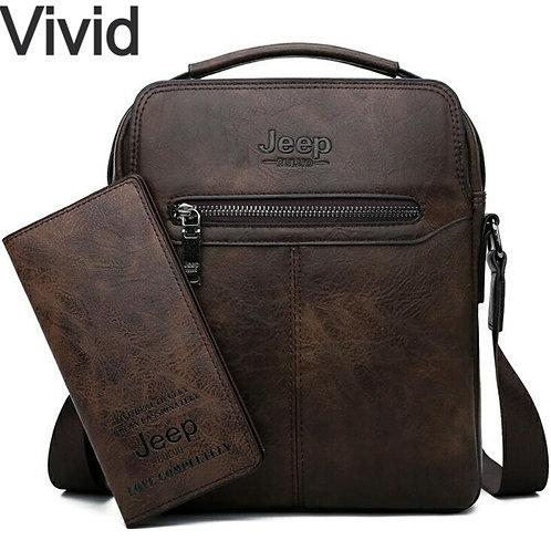 Men's High Quality New 2pc/Set Shoulder Bag