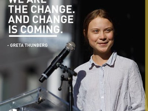 Greta Thunberg Strikes for climate change
