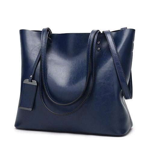 Leather Bags Fashion Handbags Large Capacity