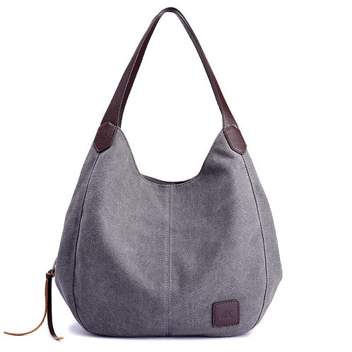 New Multi-Layer Canvas Women Bag