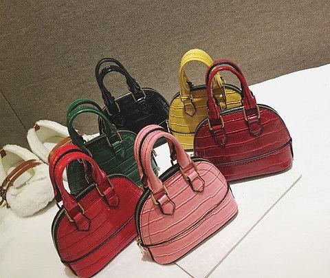 Shoulder Mini Bags PU Leather Solid Color