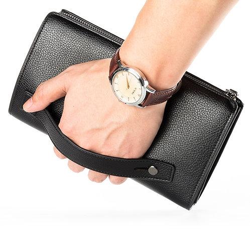 Clutch Bag Large Capacity Men Cell Phone Pocket