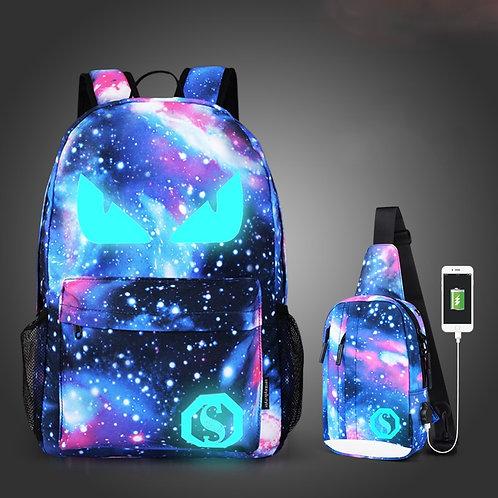 Girls & Boys School Bags Anti-Theft Luminous