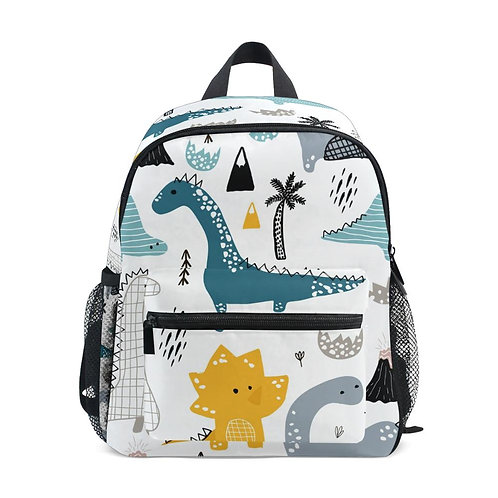 Dinosaur Children Comfortable School Bags