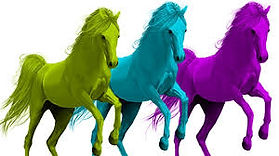 cartoon rainbow horses.jfif