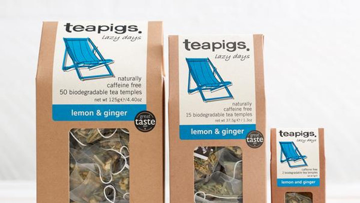 Teapigs Lemon & Ginger (50)