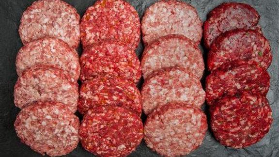 Handmade Welsh Beef Burgers (3)