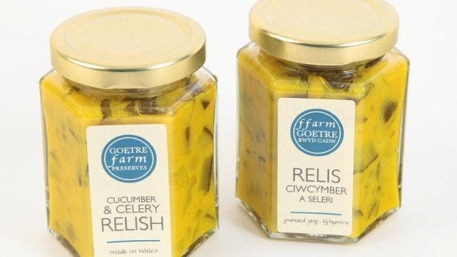 Goetre Farm Preserves Cucumber & Celery Relish