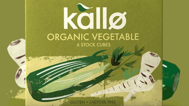 Kallo Organic Vegetable stock cubes (x6)