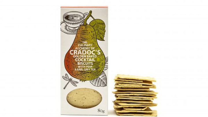 Cradoc's Pear and Earl Grey Savoury Biscuits