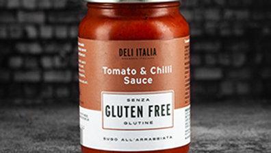 Deli Italia Tomato & Chilli Sauce - Gluten Free