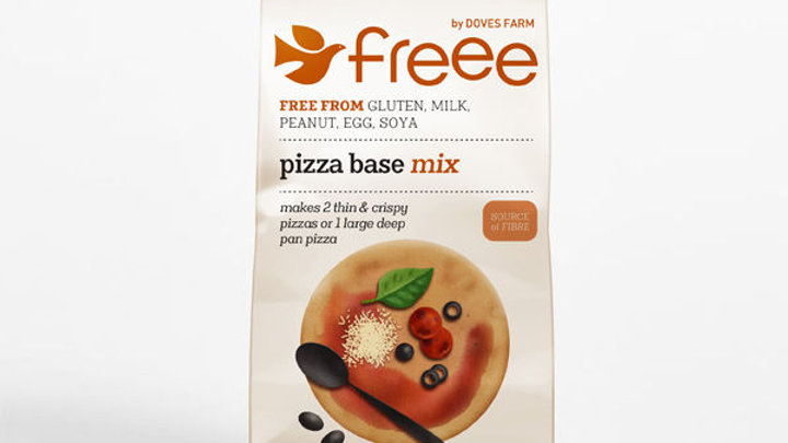Freee Gluten Free Pizza Base Mix