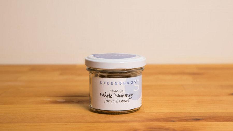 Steenbergs Organic Nutmeg (dried)