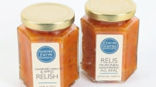 Goetre Farm Preserves Caramelised Carrot & Apple Relish