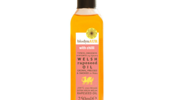 Blodyn Aur Welsh Rapeseed Oil With Chilli
