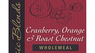 Cranberry, Orange and Roasted Chestnut