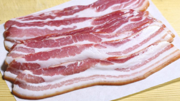 Un-Smoked Streaky Bacon (12 slices)