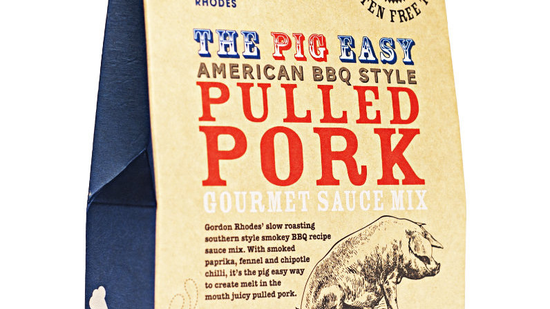 The Pig Easy American BBQ Style Pulled Pork Gourmet Sauce Mix