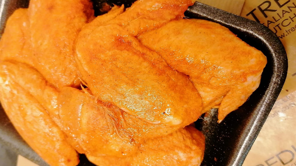 6 Cajun Spiced Chicken Wings
