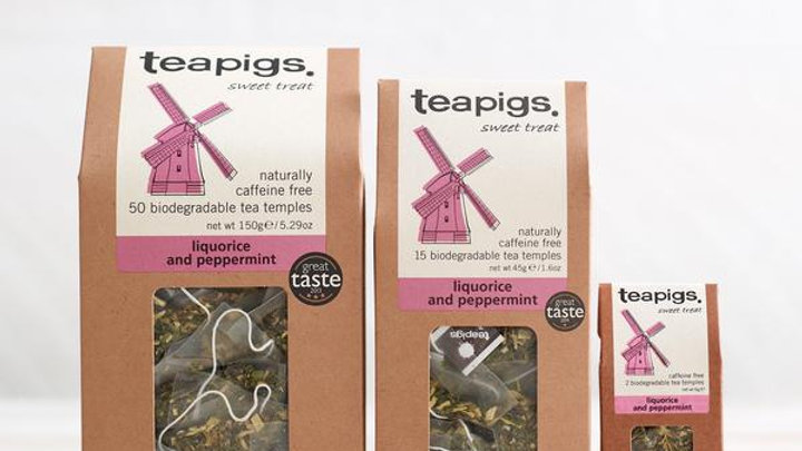 Teapigs Liquorice and Peppermint tea (50)