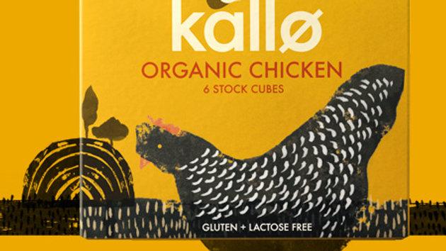 Kallo Organic Chicken Stock Cubes (x6)